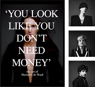 You Look Like You Don't Need Money - the art of Martin C de Waal
